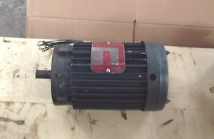 Lincoln Ac Motor Tv 2513 cn 2 Hp 3 Phase 1720 Rpm Fr 145t