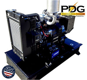 14kw Diesel Generator Perkins With 64 Gallon Fuel Tank And 2 Wire Auto Start