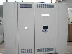 Unused Cutler hammer Distribution Transformer 400 Kva 4160 480y 277 Mch03236