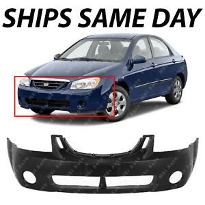 New Primered Front Bumper Cover For 2004 2005 2006 Kia Spectra