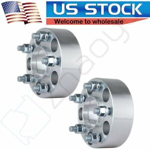 2pcs 2 0 Hubcentric Wheel Spacers 5x4 5 For Ford Ranger Explorer Sport Trac