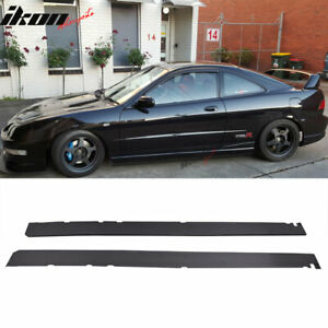 Fits 97 01 Acura Integra Add On Side Skirts Extensions Pp