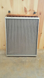 22x25 Water To Air Heat Exchanger With 1 Copper Ports