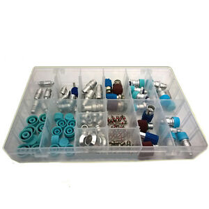 Car Truck Air Conditioner R134a Refrigerant Exhaust Valves Assortment Kit