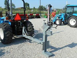 Wallenstein Wx370 20ton Tractor 3 point Vertical Horizontal 3 pt Log Splitter