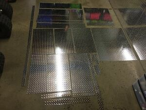 Aluminum Diamond Plate Sheeting Misc Sizes 1 16th Inch Located In Ne Pa