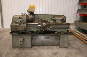 11754 Clausing Colchester 15 X 48 Geared Head Precision Lathe 2 1 16 Spindle