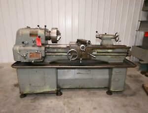 11943 Clausing Colchester 15 X 50 Lathe 2 1 8 Spindle Bore