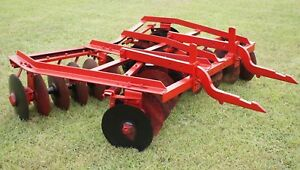7 Ih Mccormick 2pt Hitch No 136 Disk Harrow Disc International Farmall 340 560