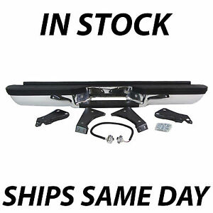 New Complete Rear Bumper For 1988 2000 Chevy Silverado Gmc Sierra C K 1500 2500