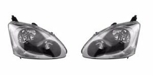For Honda Civic Si Hatchback 2004 2005 Head Lamp Lights Pair Lh Rh