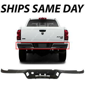 New Textured Rear Bumper Top Step Pad Cover For 2002 2009 Dodge Ram 2500 3500