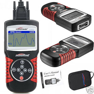 Car Scanner Tool Eobd Obd2 Obdii Diagnostic Code Reader Kw820 Check Engine Scan