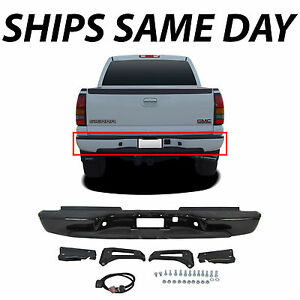 New Primered Complete Bumper For 1999 2007 Chevy Silverado Sierra 2500 3500 Hd
