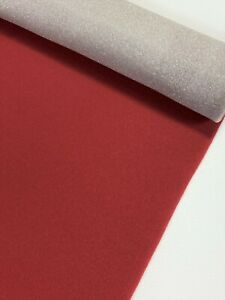 Headliner Fabric Classic Red Upholstery Auto Pro 3 16 Foam Backing 60 L X 60 W
