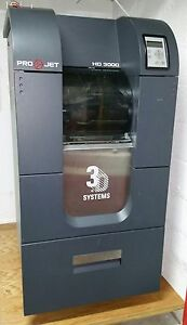 3d Printer 3d Systems Projet 3000 Hd Shipped