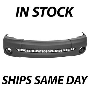 New Primered Front Bumper Cover For 2000 2006 Toyota Tundra Pickup Truck Base