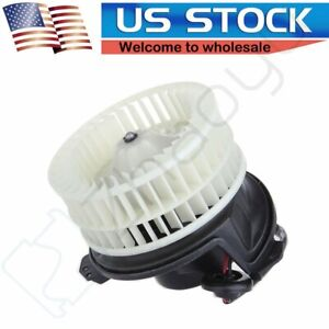 Heater Blower Motor W Fan For Town And Country Dodge Grand Caravan Abs Plastic