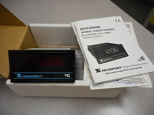 Newport Electronics 202a rc C1 Thermocouple Panel Meter Signal Conditioner 230v
