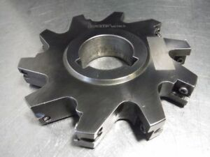 Iscar 5 Indexable Slot Milling Cutter 1 5 Arbor Pi 90164 034 loc900