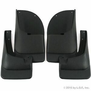 1999 2007 Ford F250 F350 Mud Flaps Mud Guards Splash Superduty Front Rear 4pc