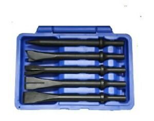 5pc Air Hammer Chisel Set T E Tools 8296