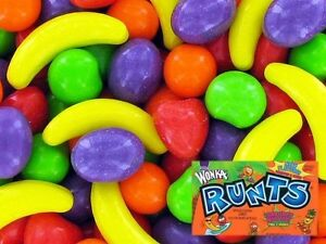 90 Lbs Wonka Runts Fruit Bulk Candy Vending Machine