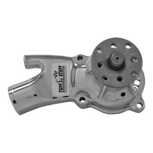 Tuff Stuff Water Pump 1529a Chrome Cast Iron For Chevy Gm 194 230 250 292 L6
