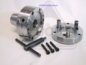 Bostar Plain Back 5c Collet Chuck Use 5c Collets For Lathe Grinder And Tool