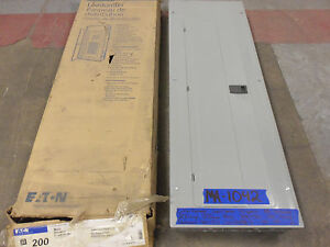 New Cutler Hammer 200 Amp Panel Panelboard Load Center 208v 120v 240v Main Break