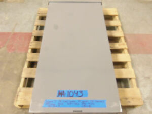 Square D 400 Amp Panel Loadcenter 3r Mlo 208v 120v 240v 3 Phase Breaker 300 Qo