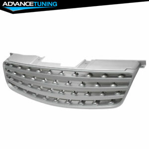 Fits 05 06 Nissan Altima S Se Sl Front Upper Grille Hood Grill New Silver