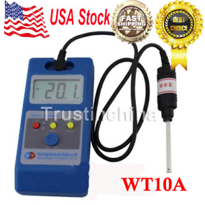 Wt10a Lcd Tesla Meter Gaussmeter Surface Magnetic Field Tester Us Fast Ship