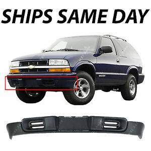 New Textured Front Bumper Deflector Lower Valance For 1998 2005 Chevy S10 Blazer