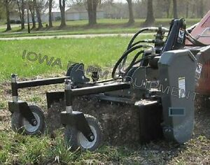 Worksaver Pxs 405 Mini Skid Steer Power Box Rake 48 Working Width