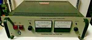 Glassman Pg 001n 500 Constant High Voltage Current Power Supply Pg 001n 500