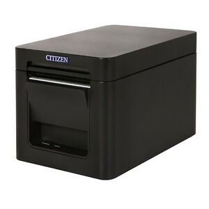 Citizen Ct s251 Bluetooth Black 2 Pos Thermal Printer Restaurant Retail New