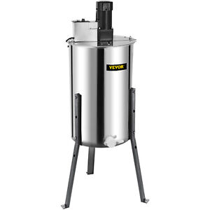 Electric Honey Extractor 2 4 Frame Beekeeping Equipment Stainless Steel 120w