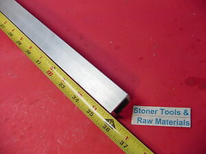 30 Pieces 1 x 1 x 1 8 Wall X 36 Long Aluminum Square Tube 6063 T52 New