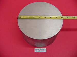 8 Aluminum 6061 Round Rod 6 Long 07 0 T6511 Solid Extruded Lathe Bar Stock