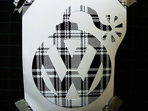 Vw Volkswagon Vinyl Sticker Decal Gti Jetta Golf Beetle