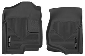 Husky 53101 X act Contour Floor Mats For Chevy Silverado Gmc Sierra Front Black