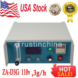 3g h Ozone Generator Maker Therapy Machine Medical Lab Equipment Za d3g Us Fast