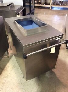 Cornelius Ice Bin Ice Caddy On Casters csi5050