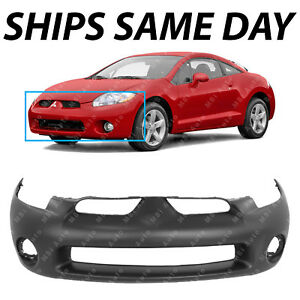 New Primered Front Bumper Cover Replacement For 2006 2008 Mitsubishi Eclipse