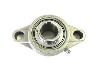 Sucsfl204 12 3 4 Stainless Steel 2 Bolt Flange Bearing