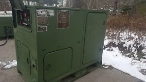 Cummins Mep 1050 Ammps 15kw Tactical Military Diesel Generator 60hz yanmar
