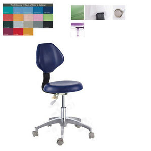 Pu Leather Medical Dental Dentist s Chair Doctor s Stool Adjustable Mobile Chair