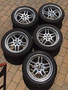 Bmw E38 18 M parallel Wheel Rim Tires 740il 740i 740 750il 750