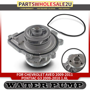 Water Pump For Chevrolet Aveo Aveo5 Cruze Sonic G3 Saturn Astra 1 6 1 8l 1334142